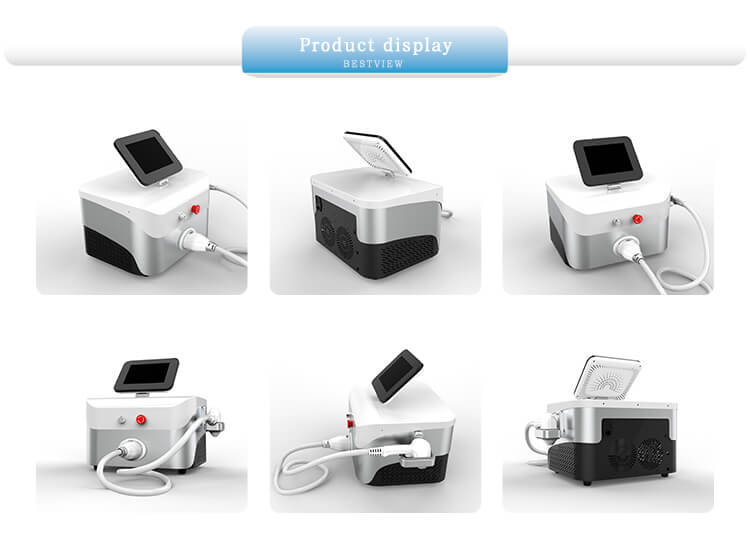 Machine show of Three Wavelengths Laser Hair Removal Machine